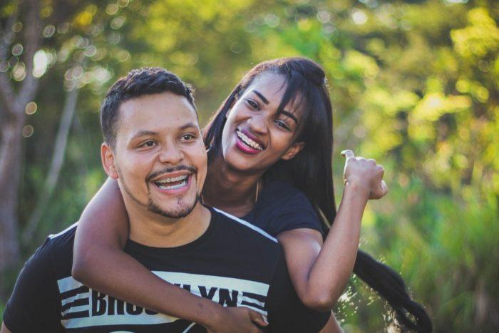Lookalike Couples young couple