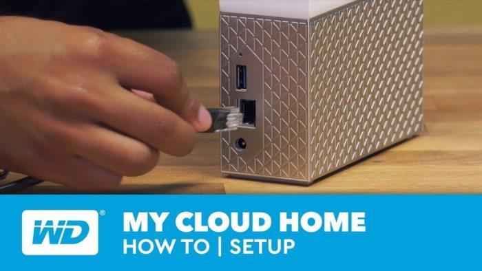 My Cloud Home setup