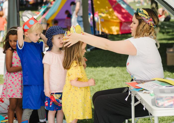 Wild Child Festival crafts