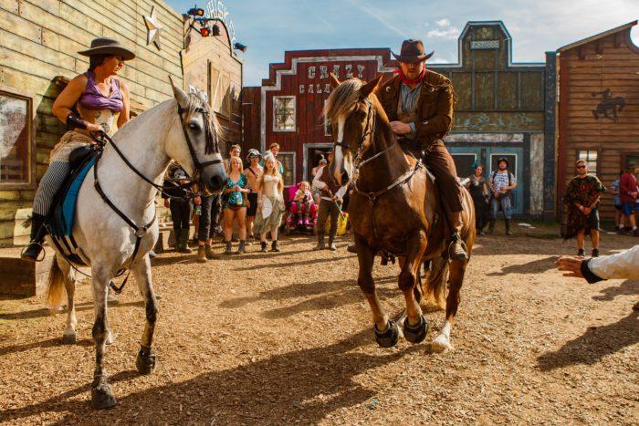 Boomtown Fair cowboys