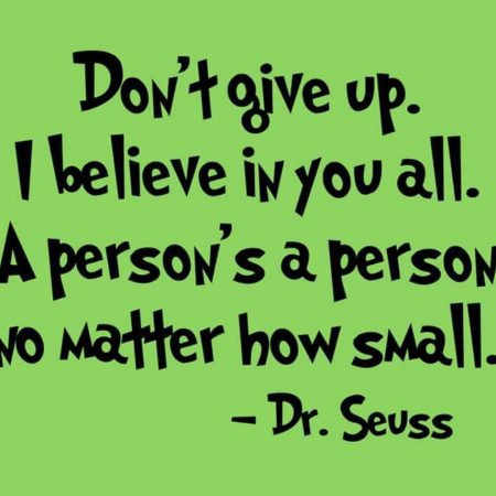 Dr Seuss A Person