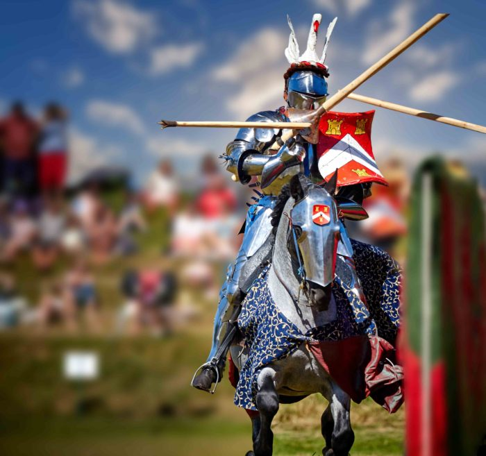 Grand Medieval Joust at Eltham Palace