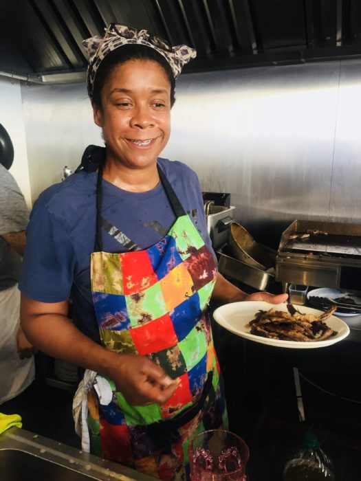 Pitanga chef Nky Iweka