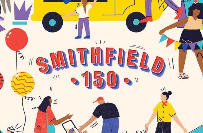 Smithfield 150 logo