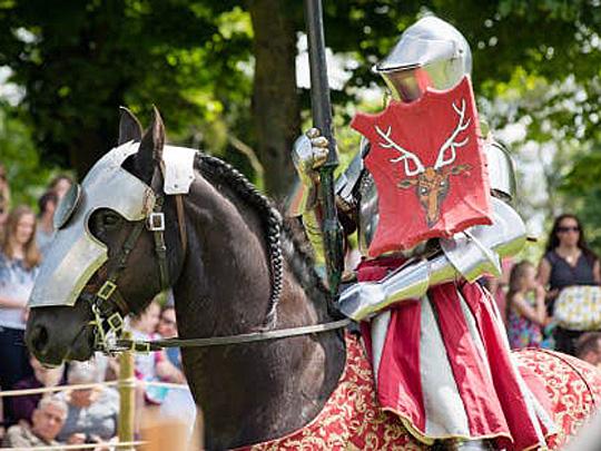 Tudor Joust weekend
