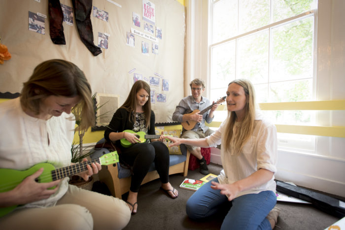 Ben Faulks ukulele