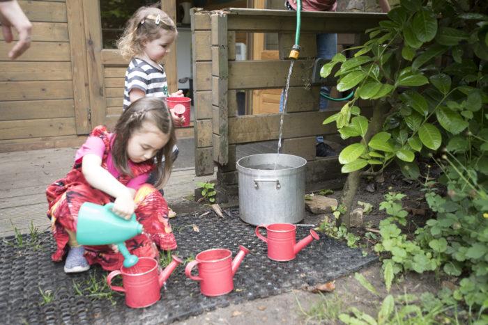 Aberdeen Park Nursery family gardening