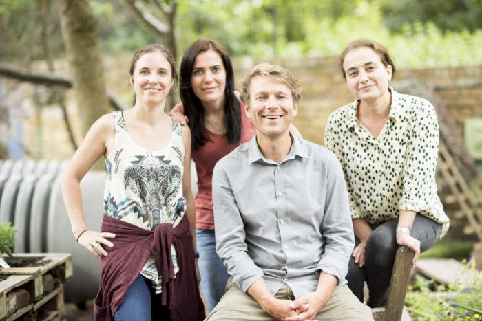 Aberdeen Park Nursery team with Ben Faulks