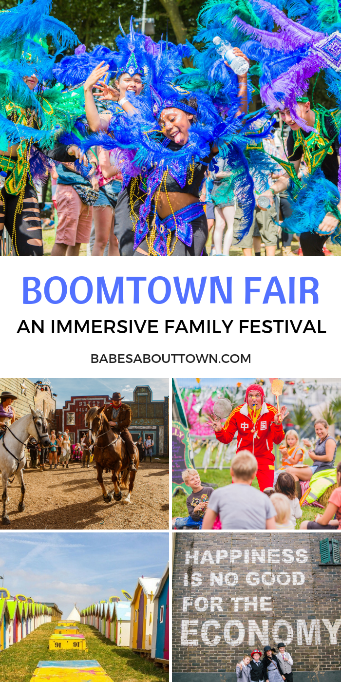 Is Boomtown Fair family friendly? Find out what we thought after visiting the UK's most immersive and theatrical music festival!