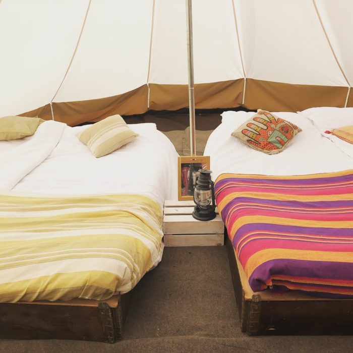 Boomtown Fair luxury bell tent