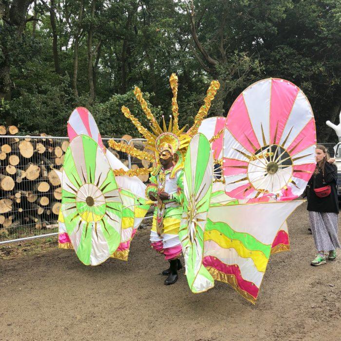 Boomtown Fair carnival costume