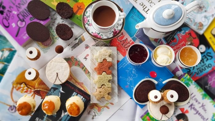 Childrens Afternoon Tea Daunt Books at Langham Hotel