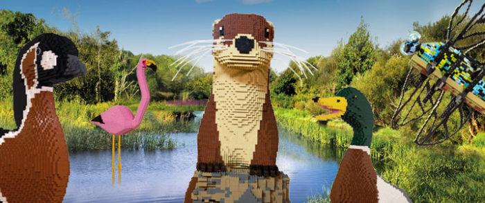 Giant LEGO Brick Animal Trail
