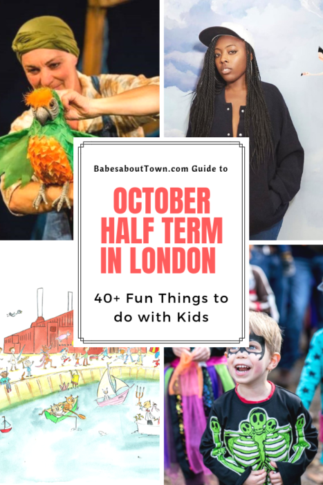 October half term London 2018