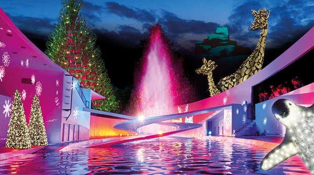 Christmas London Zoo