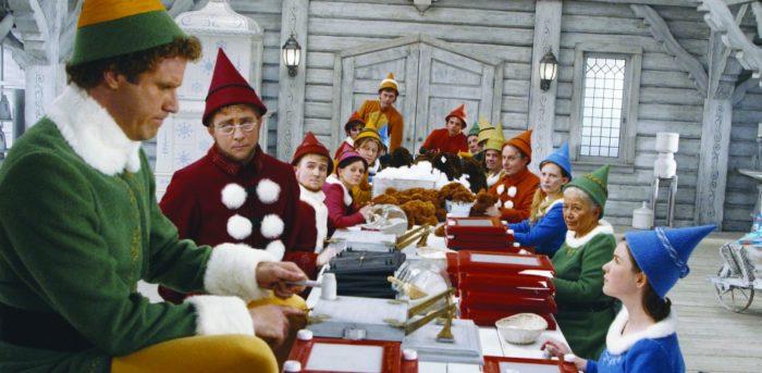 Christmas films Elf