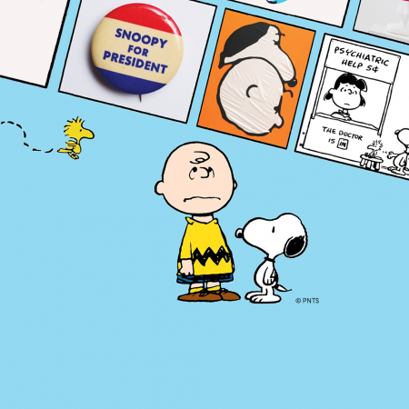 Good Grief Charlie Brown at Somerset House