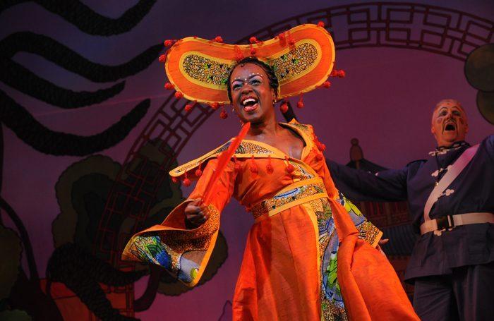 Hackney Empire Aladdin with Tameka Empson