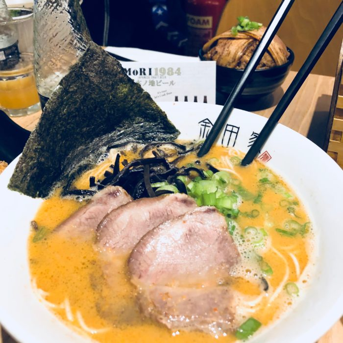 Eat London with Kids: Kanada-Ya (Japanese Ramen Bar)
