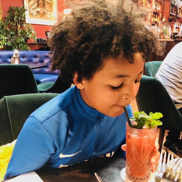 Little Bat strawberry juice