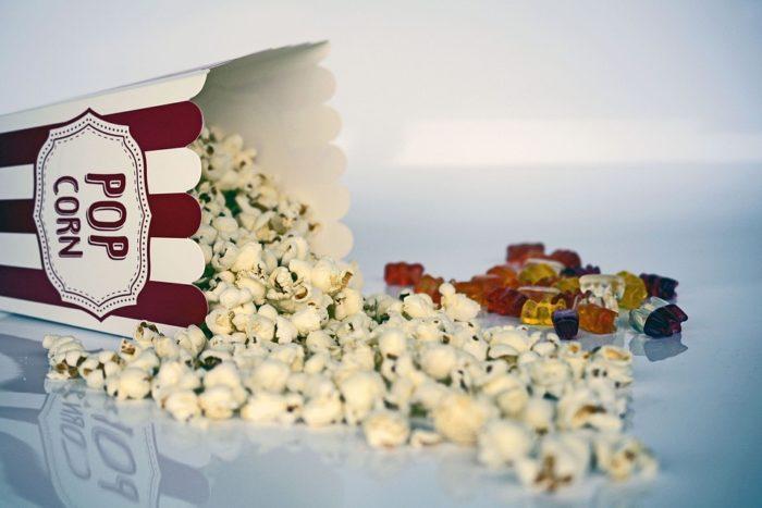 London Kids Cinema popcorn