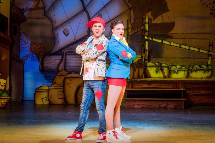 Aladdin - Hackney Empire Alim Jayda and Gemma Sutton