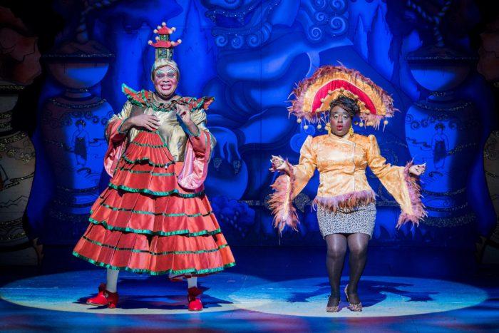 Aladdin - Hackney Empire Clive Rowe and Tameka Empson
