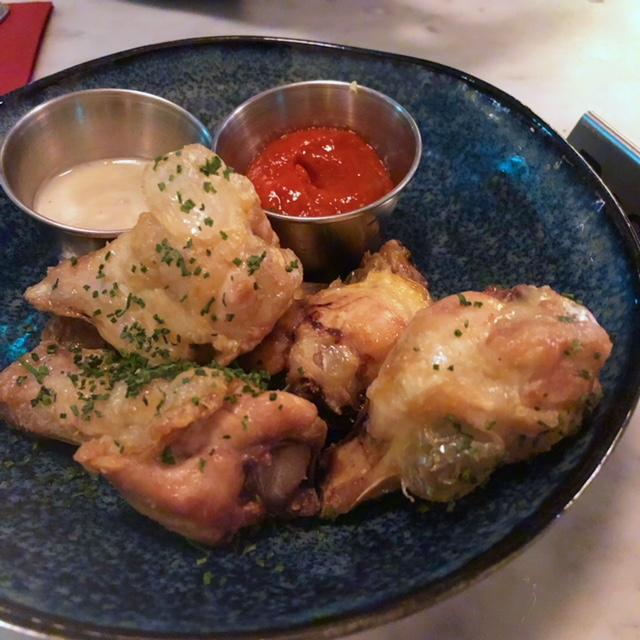 The Belrose fiery chicken wings