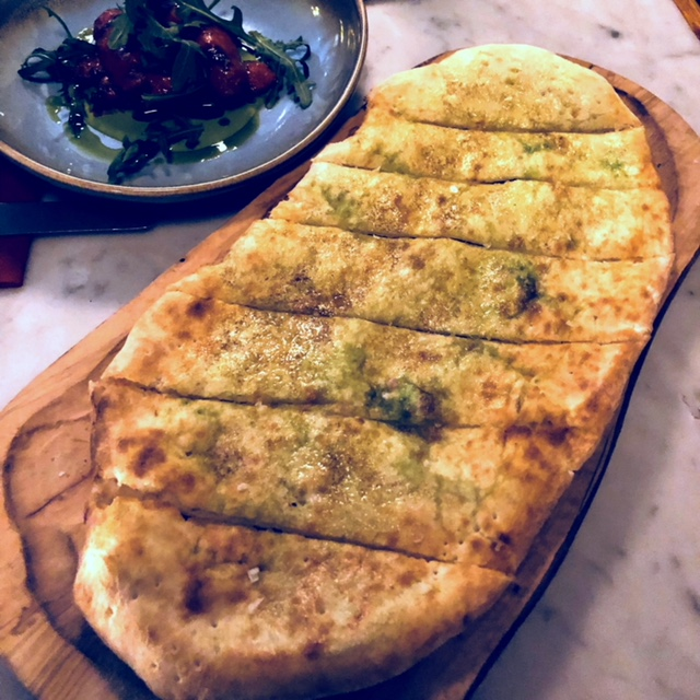The Belrose rosemary garlic pizzettes