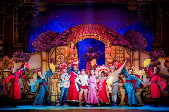Aladdin Hackney Empire cast