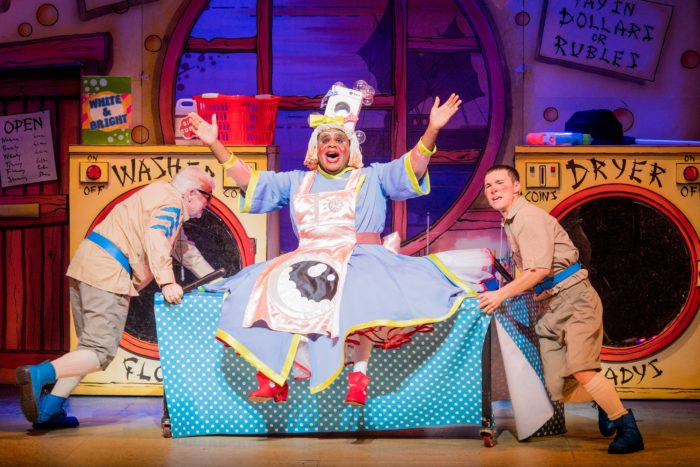 Aladdin Tony Whittle Clive Rowe Michael Lin