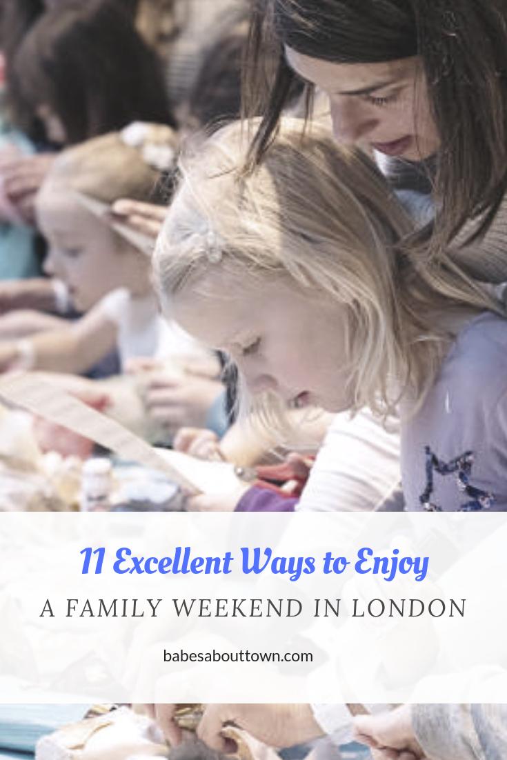 London Kids Weekend Scoop (January 24-27, 2019)
