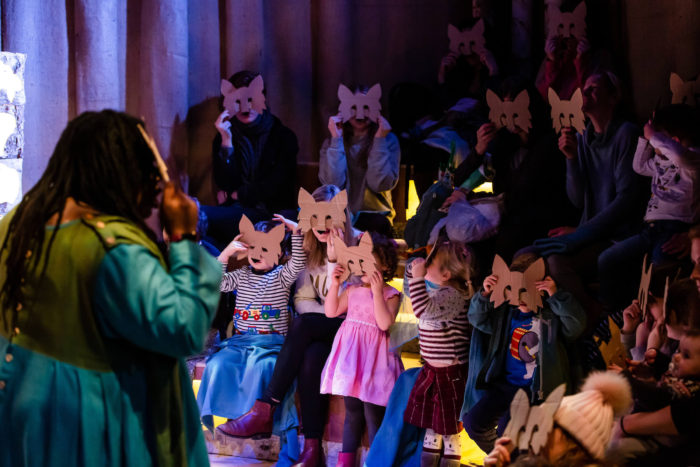 Family Workshop at Polka Theatre - In the Winter Wood
