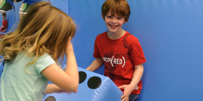 Giant Games for Little Soldiers at National Army Museum