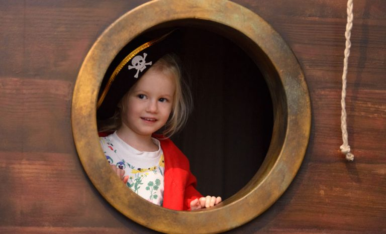 Pirate Sleepover at Museum of Childhood