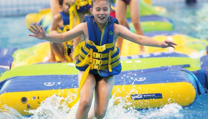 Ultimate Aqua Splash at the Olympic Pool