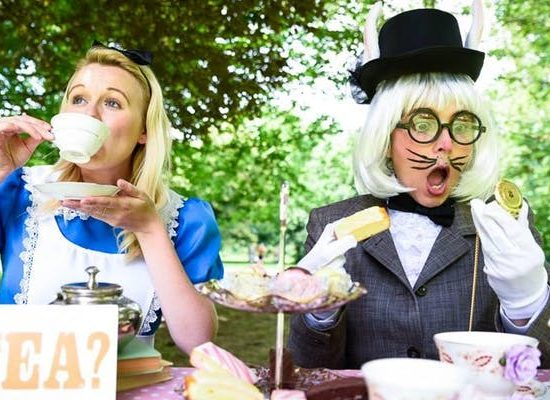 Alice in Wonderland Easter Family Day