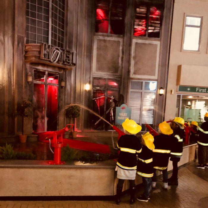 KidZania London firemen