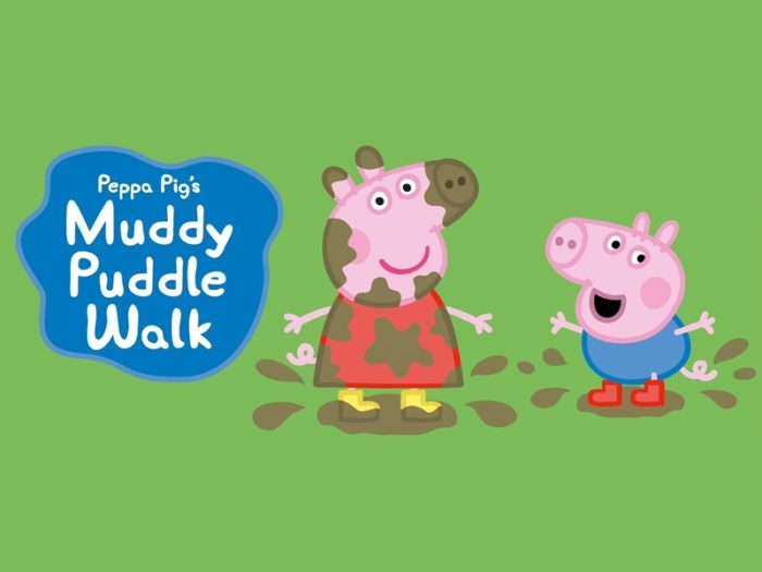 Peppa Pig Muddy Puddle Walk