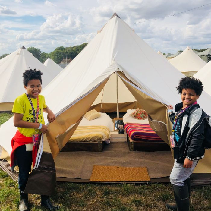 Boomtown Fair glamping