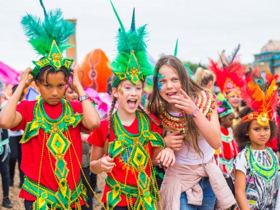 Boomtown Fair kids carnival