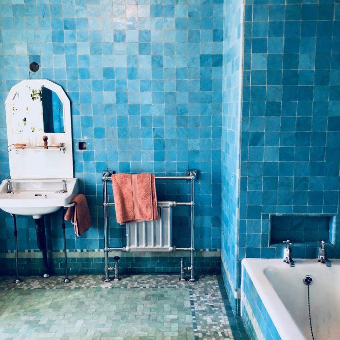 Eltham Palace Stephen Courtauld bathroom