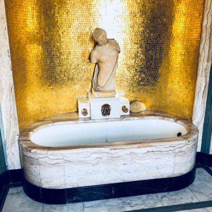 Eltham Palace Virginia Courtauld bathroom