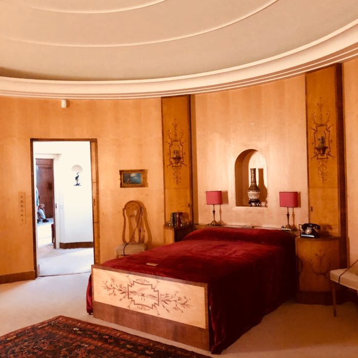 Eltham Palace Virginia Courtauld bedroom