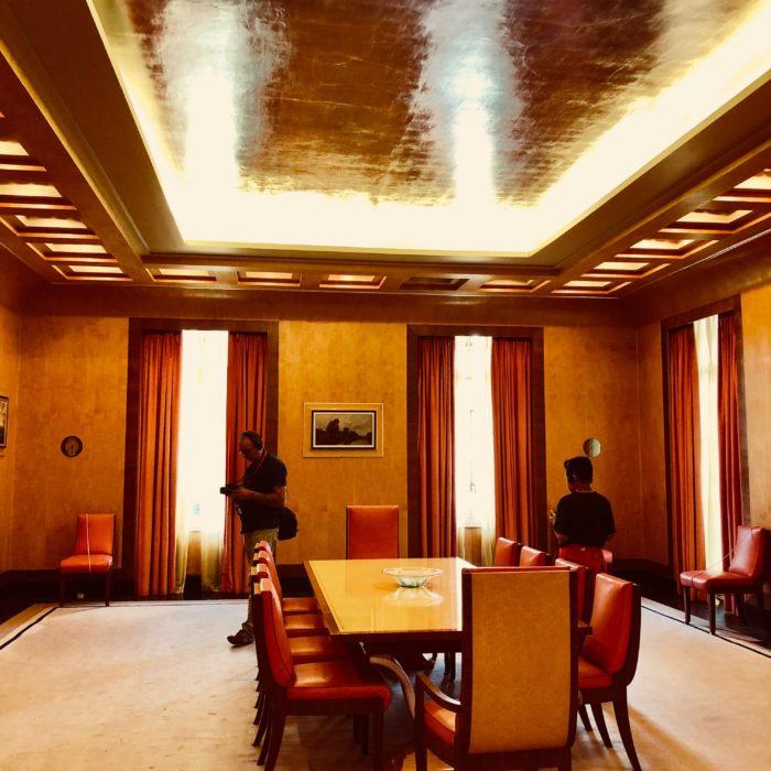 Eltham Palace dining room