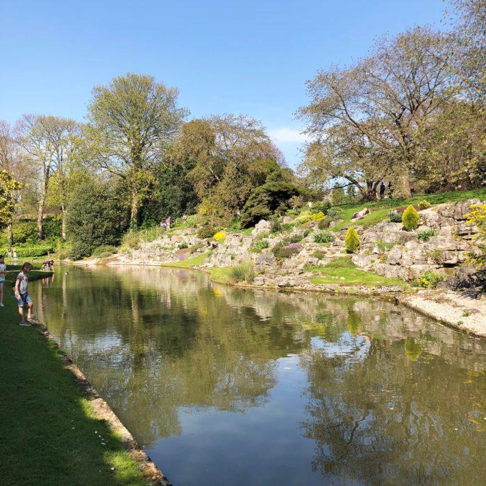 Eltham Palace rock garden