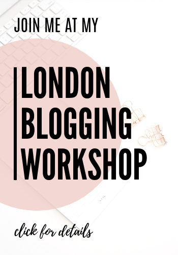 London Blogging Workshop by Mothers and Shakers