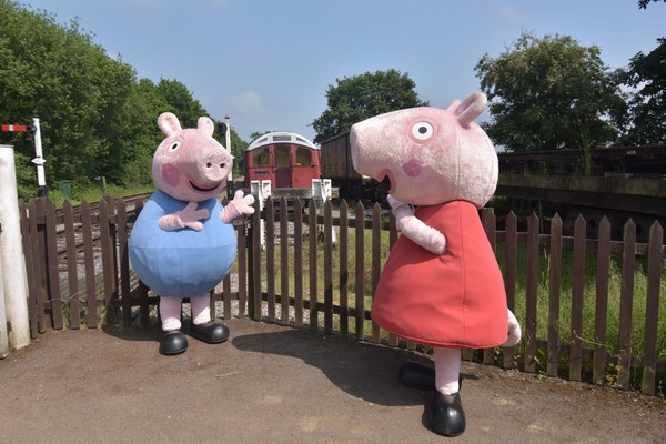 Peppa Pig on EO Railway