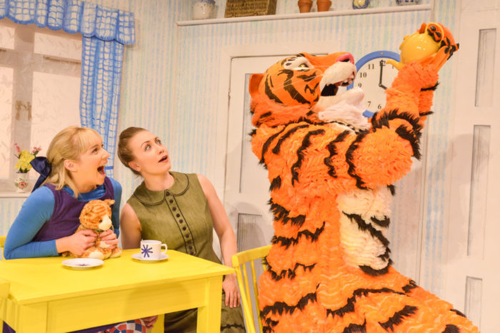 Tiger who came to Tea at Arts Depot