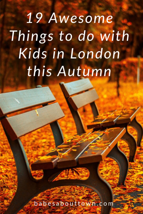 19 Awesome Things to do with Kids in London this Autumn